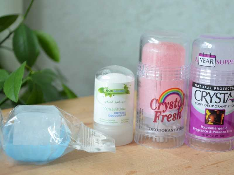 Применение натурального дезодоранта Кристалл: механизм действия минерального антиперспиранта, его плюсы и минусы