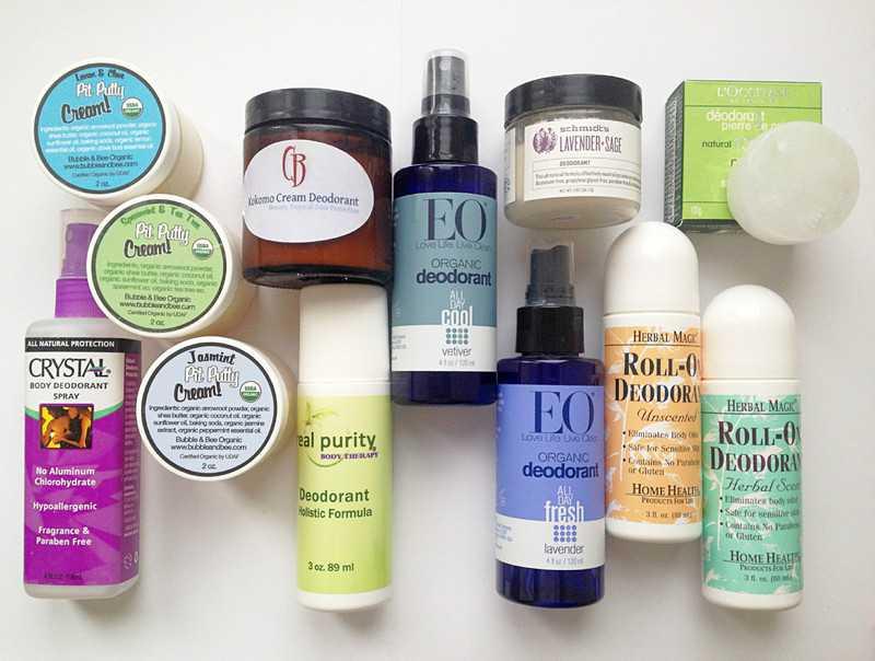 Натуральные дезодоранты и антиперспиранты: преимущества и недостатки