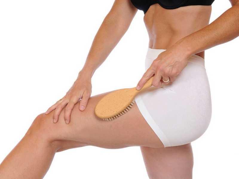 Качественная щетка из натуральной щетины для тела: виды продукции и техника выполнения массажа
