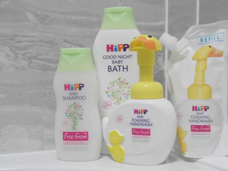 Выбор безопасного детского шампуня без сульфатов и парабенов